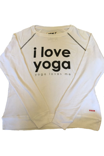 Peace Love World I Love Yoga Yoga Loves Me Oversized Comfy Top