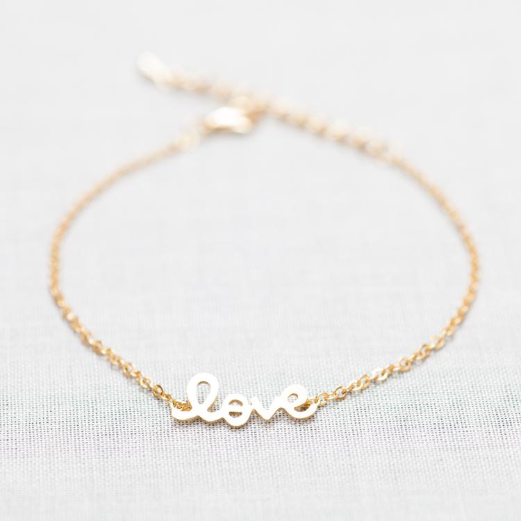Love Word Bracelet