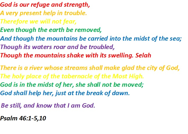 Psalm S Rainbow Of Love