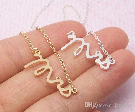B Gold Silver Simple Dainty Mrscelet Small Stamped Wordcelet Tiny Love Initial Alphabet Letterscelets Silver Charms Forcelets Cheap Charm