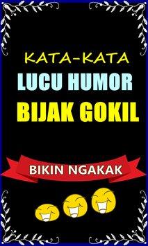Kata Kata Lucu Humor Dan Bijak Gokil Bikin Ngakak Imagem De Tela