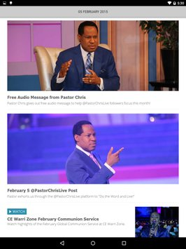Loveworld News Apk Screens