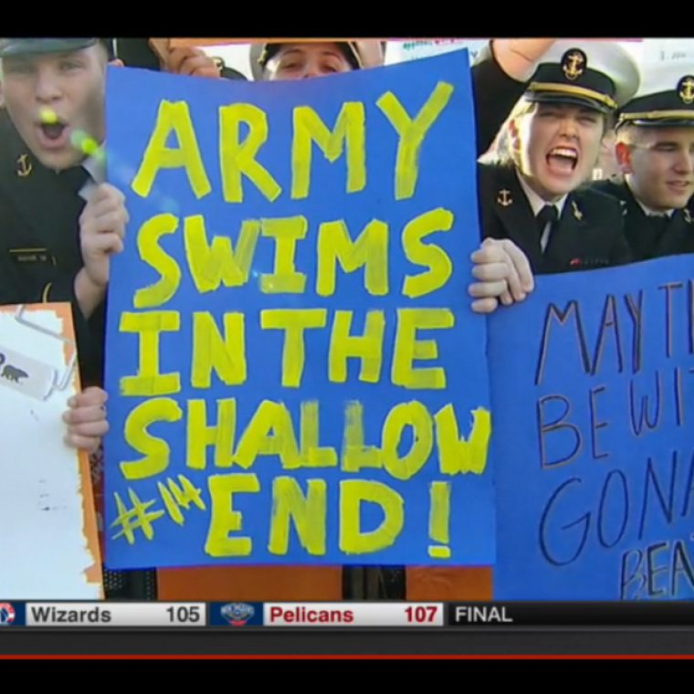Army Swims In The Shallow End
