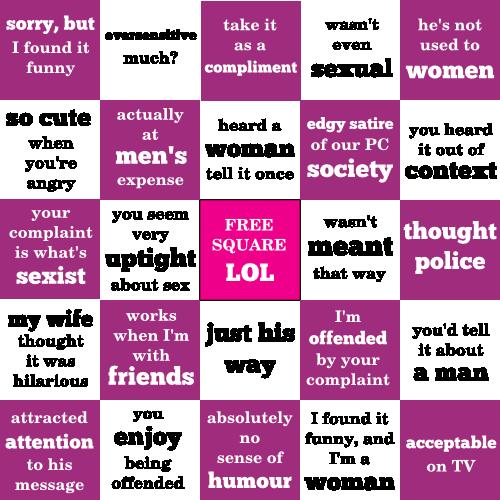 Ist Joke Bingo