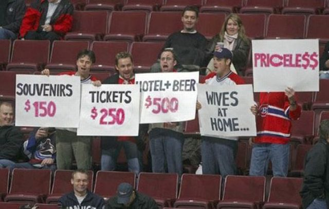 Funny Sports Signs Pics