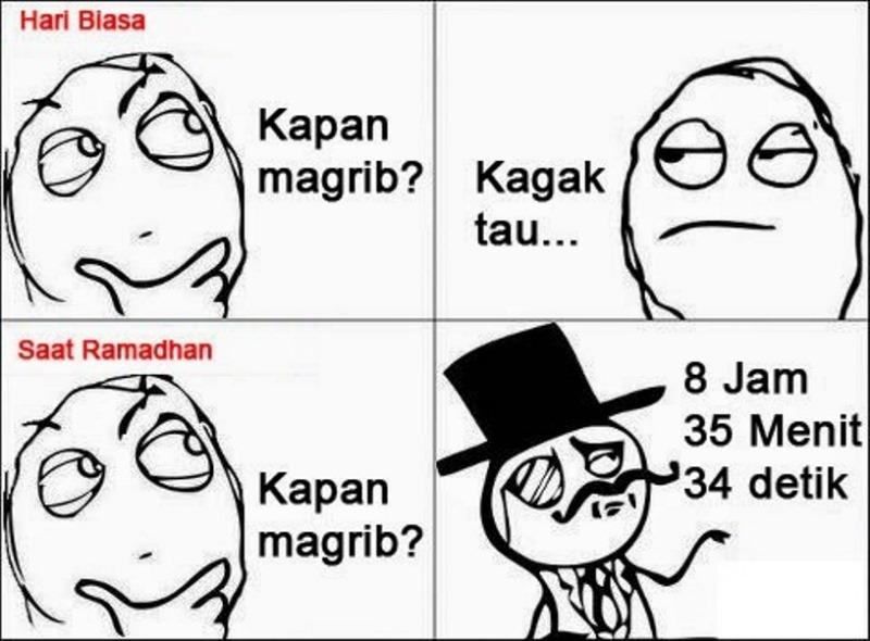 Tanda Jelang Puasa Joke