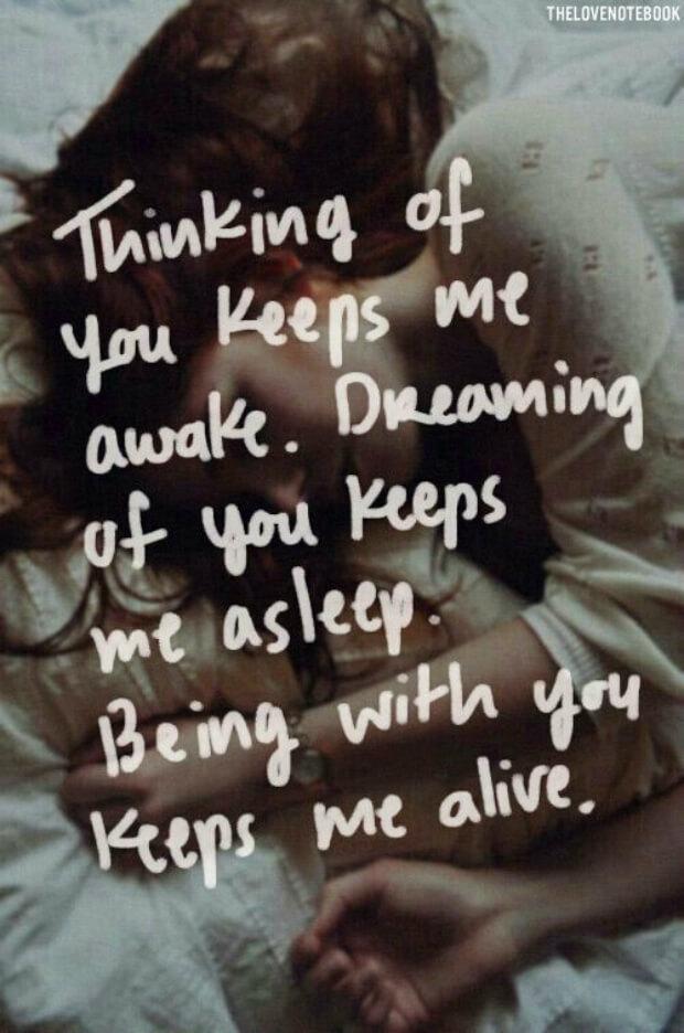 Thinking Of You Keeps Me Awake