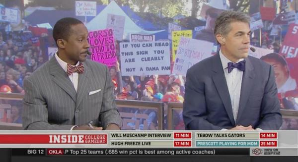 Top Funniest Gameday Signs From The