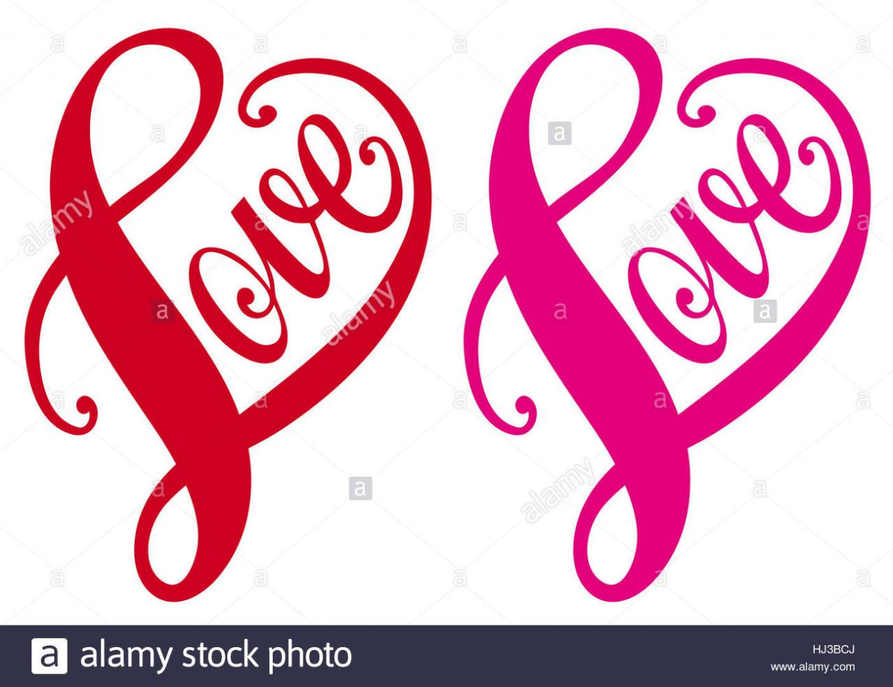 Word Letter Love In Love Fell In Love Valentine Heart