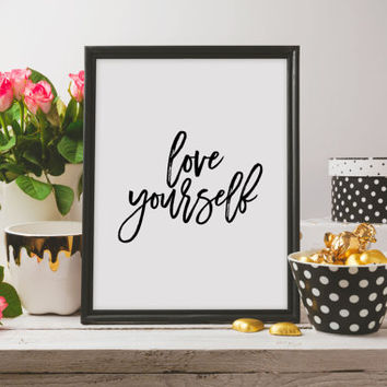 Justin Bieber Quote Song Lyric Art Purpose Allove Yourself Lyrics Dorm Decor Song Quotes Justin