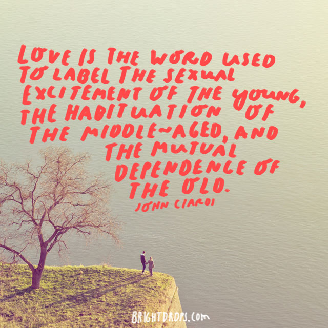 Love Is The Word Used To Label Theual Excitement Of The Young The