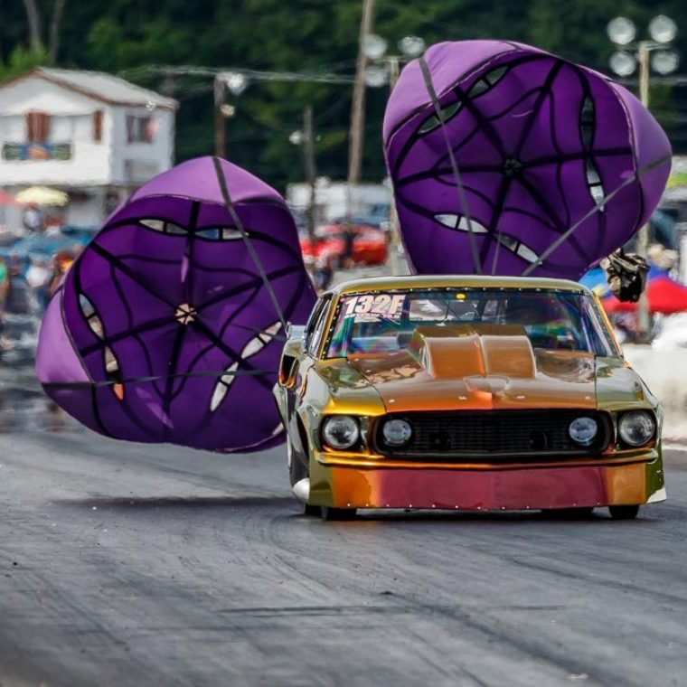 Yellow Bullet At Cecil County Dragway