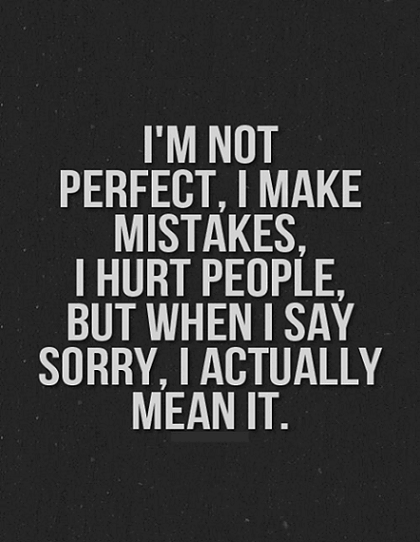 Love Quotes For Him Saying Sorry Hover Me