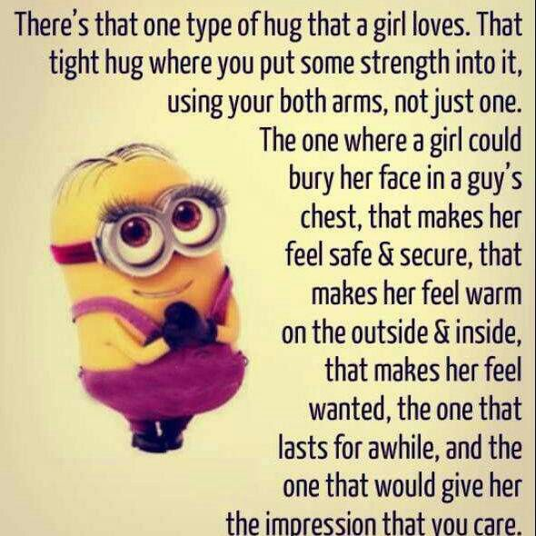Explore Types Of Hugs Minion Love Quotes And More