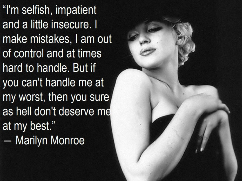 Marilyn Monroe Fashion Style Short Quotes Lovechristian