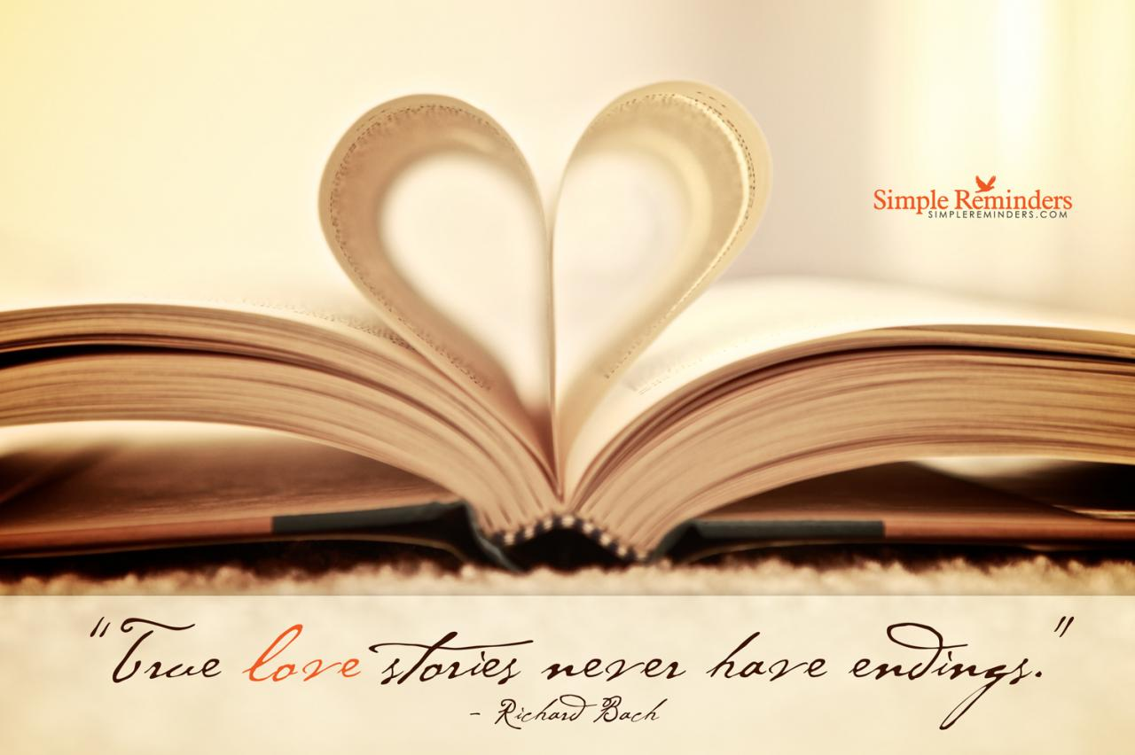 True Love Stories Never Have Endings Richard Bach