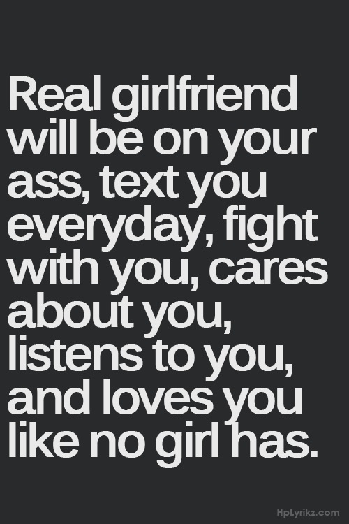 Describes My Girlfriend Perfectly