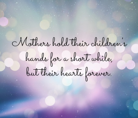 Mothers Day Inspirational Quotes Heaven Maybe Too Small Because I Can See It