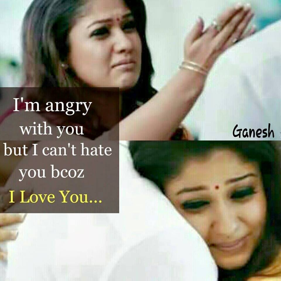 Love Quotes In Raja Rani Film Hover Me