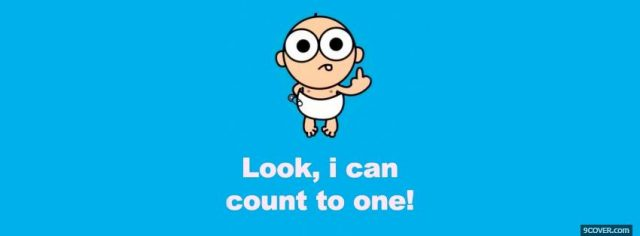 Photo Funny Cute Baby Quote Facebook Cover For Free