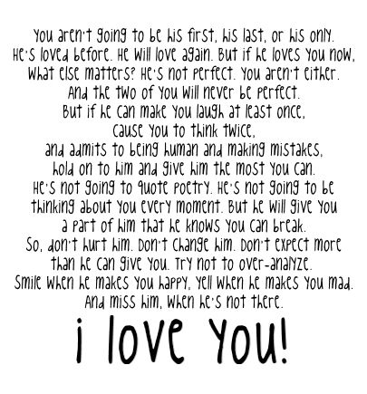 I Love You Quotes And Sayings For Him My E