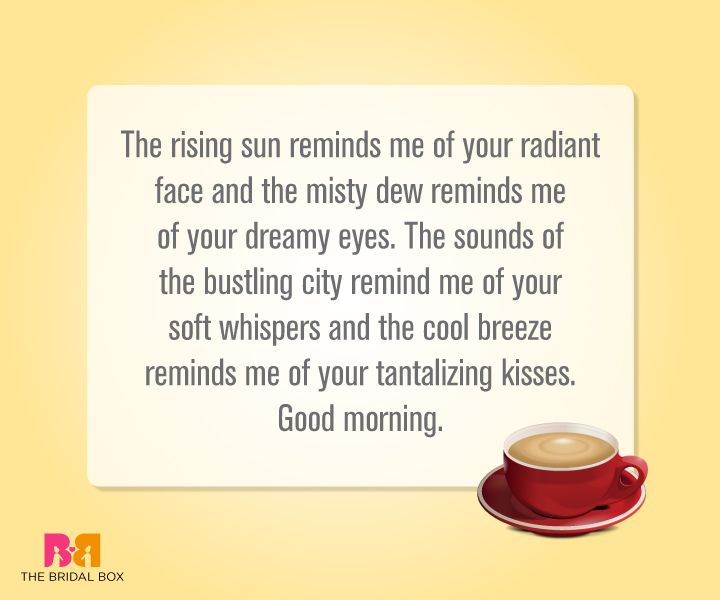 Adorable Good Morning Love Quotes For Her To Wake To