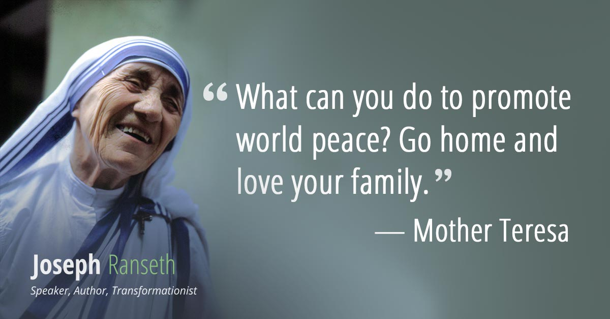 Mother Teresa Quotes To Cultivate Love And Comp Ion Joseph