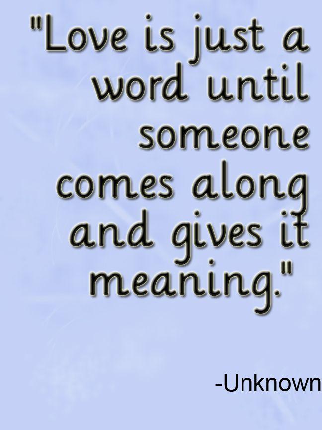 Short Love Quote Description