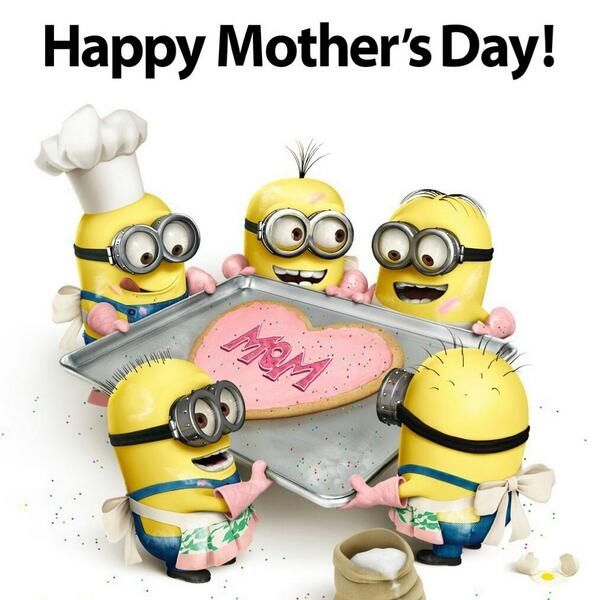 Happy Mothers Day Minions