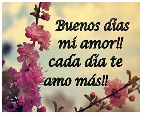 Good Morning My Love Every Day I Love You More C B Geminispanish Quotesmarriage