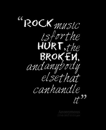 Love Quotes From Rock And Roll Songs Best Rock Music Quotes Ideas On