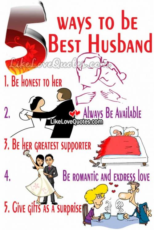 Ways To Be Best Husband  Be Honest To Her  Always Be