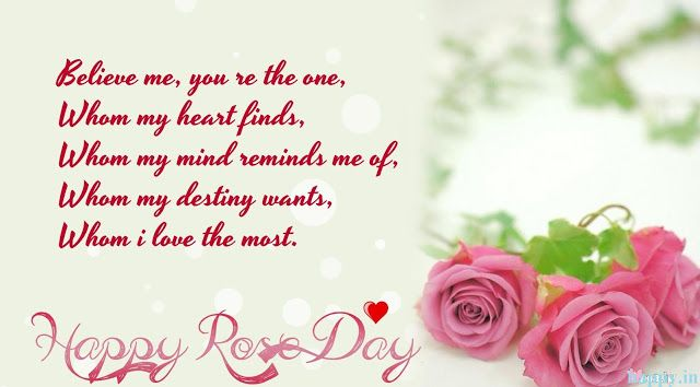 Happy Rose Day Messages For Girlfriend Boyfriend Romantic Rose Day Quotes Wallpapers For Love Couple