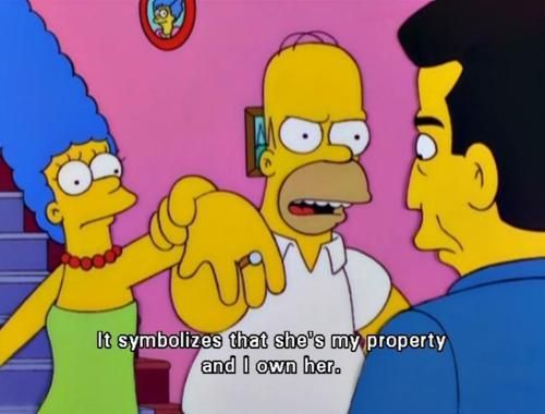 She Is My Property I Own Her Funny Pinterest Homer Simpson Quotes Homer Simpson And Memes