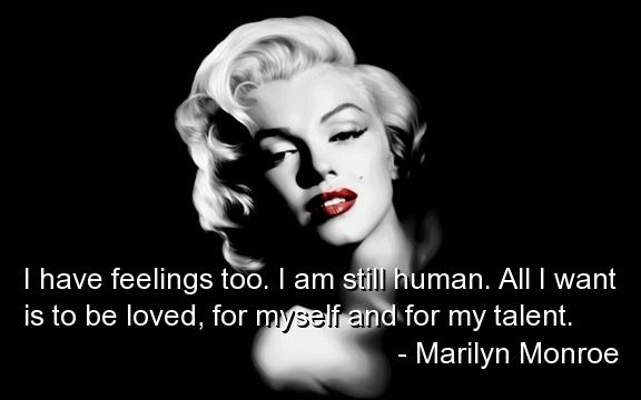 Marilyn Monroe Quotes About Love Quotesgram