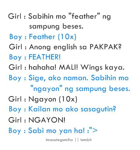 Fast Love Quotes Tagalog Jokes