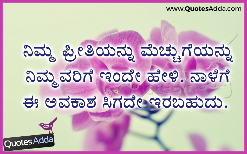 True Love Quotes In Kannada Language Hover Me