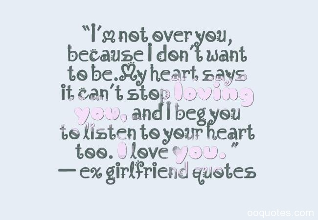 Loving Quotes For Ex Girlfriend Hover Me