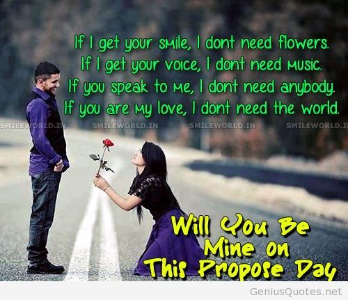 Proposal Quotes Wallpapers And Images Happy Proposal Day