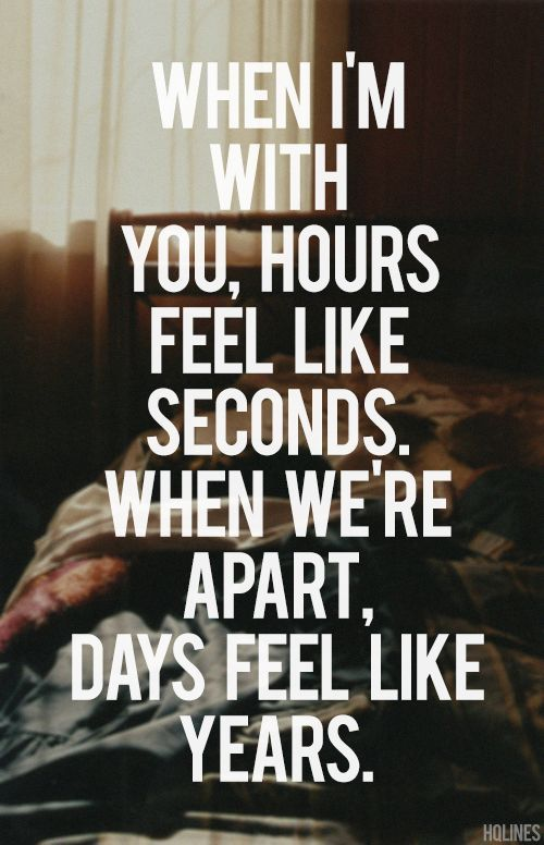 Time Flies When I Am With You