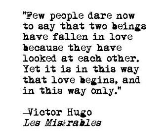 Les Miserables Love Quote Retro Typewriter Literary Print Romance Wedding Valentines Day Anniversary En Ement Gift Literature