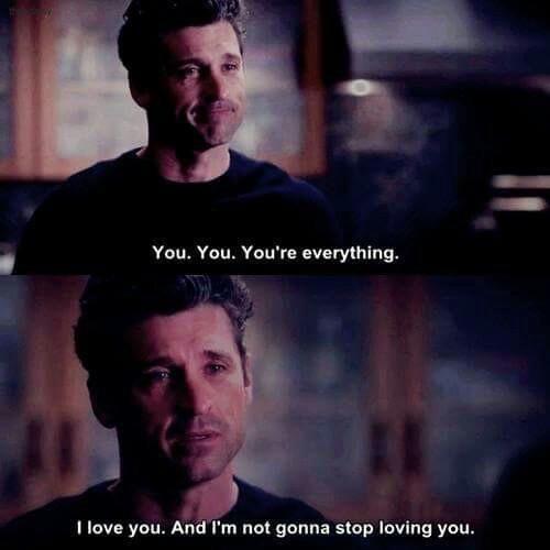 Derek Was Perfect