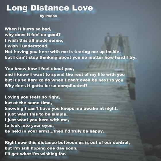 Long Distance Relationship Guidance