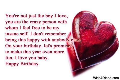 Happy Birthday Wishes For Boyfriend Birthday Wishes For Boyfriend Boyfriend Birthday Wishes Birthday Wishes Boyfriend Happy Birthday Boyfriend Wishes