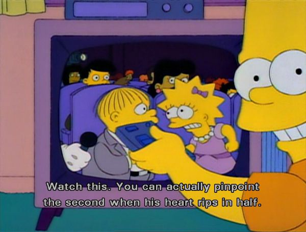 Things The Simpsons Taught Us About Love