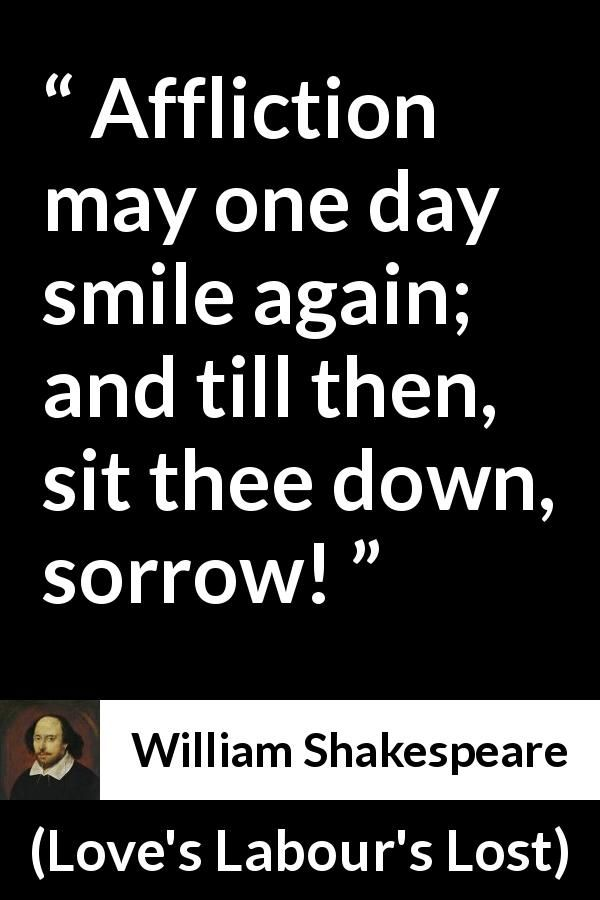 William Shakespeare Quote About Happiness From Loves Labours Lost