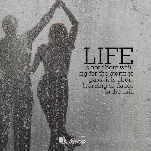 Life Dancing In The Rain Quote Mesmerizing Five Quotes That Inspire