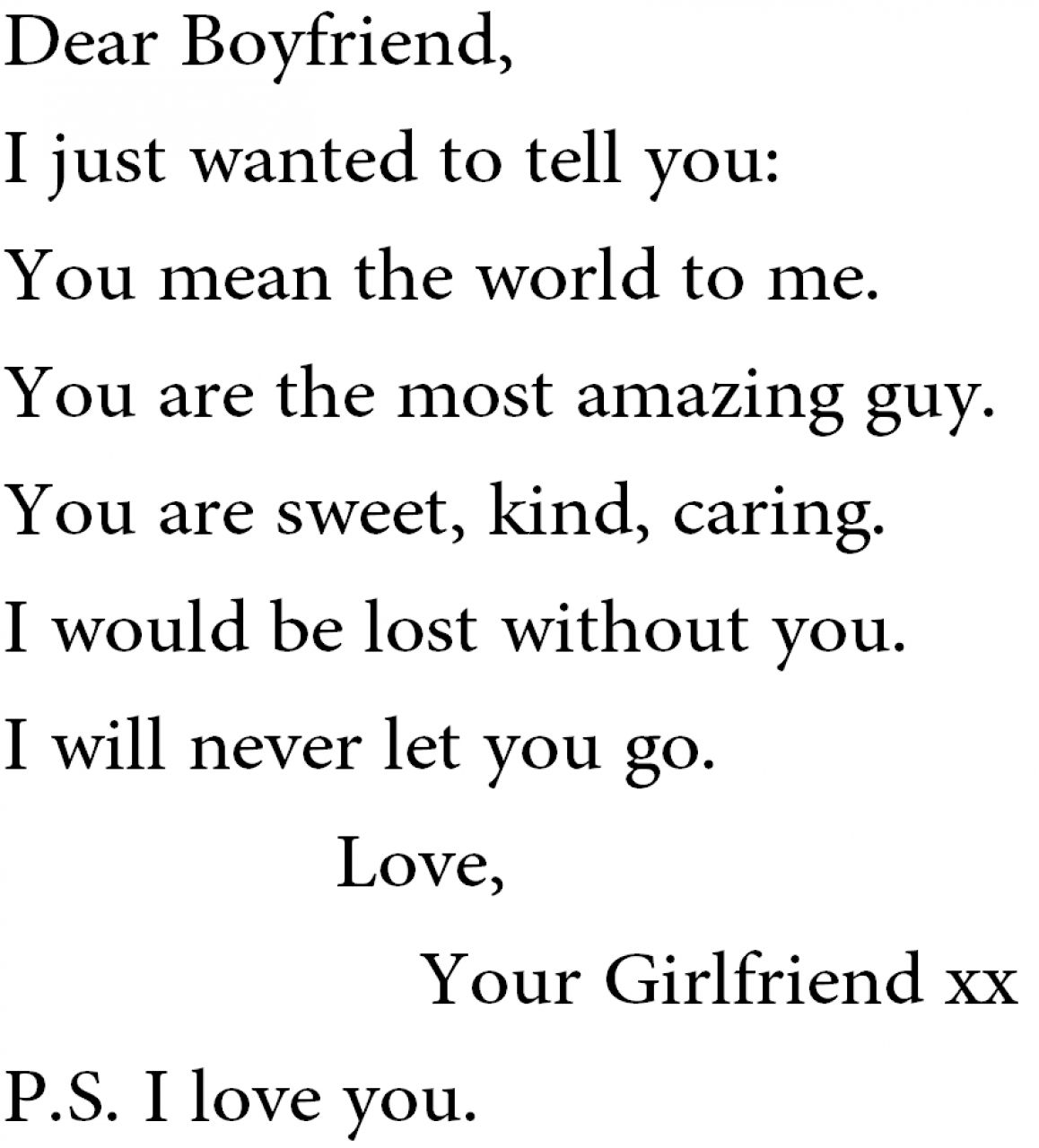 Quotes To Tell Your Boyfriend You Love Him