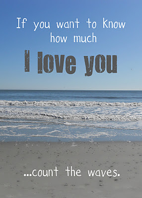 How Much Yep A Little More Than There Are Waves In This Beautiful Atlantic Ocean Love Quotesbeach