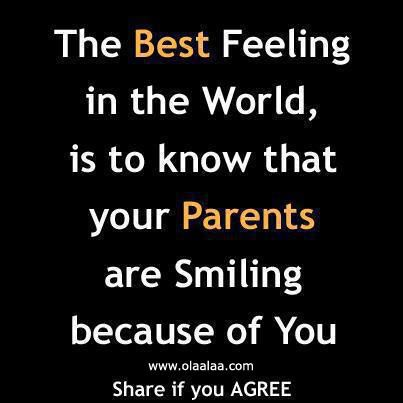 Love Sayings About Parents In Quotes And Tagged Best Feeling Parents